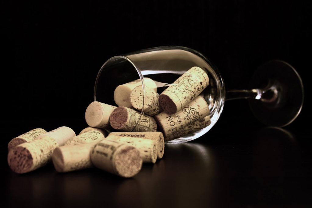 quando il vino sa di tappo