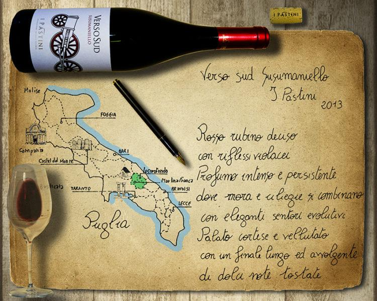 Susumaniello I Pastini Verso Sud e la Valle d'Itria